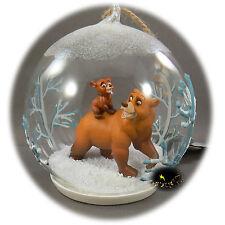 Disneyland Paris -Brother Bear - Christmas Ornament - Map of the 2 Parks - Koda