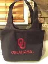 Oklahoma University Purse Black Sandol NWT