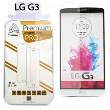 New 100% Genuine Gorilla Tempered Glass HD Film Screen Protector For LG G3