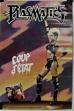 Plasmatics/Wendy O. Williams-Coup d'Etat-Original 1982 30x20 Promo Poster-Nos!