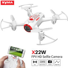 Syma X22W RC HD Camera Drone WIFI FPV Live Video Set High Quadcopter for Kids