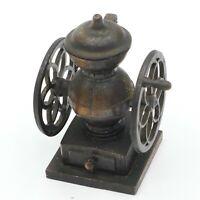 Miniature Vertical Coffee Grinder / Mill Pencil Sharpener side handles die cast