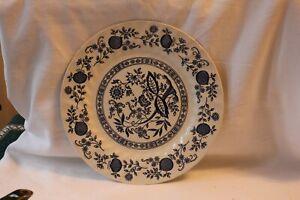 Transferware Plate Myott dinner plate 10 inch brown transferware The Brook Staffordshire England cottage scene vintage china