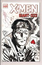 X-Men Giant-Size #1 Gambit Original Artwork Signed by Mike Perkins & Chris W/COA