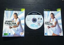 PRO TENNIS WTA TOUR : JEU Microsoft XBOX (Konami COMPLET envoi suivi)