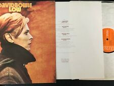 DAVID BOWIE - LOW - UK  RCA A1/B2 - STICKERED SLEEVE, 3 X MATRICES - LP  INSERT