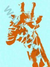 Pop Art Giraffe Decorative Posters & Prints