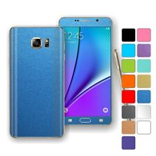 For SAMSUNG Galaxy NOTE 5 COLORFUL MATT Wrap Sticker Decal Protector Skin