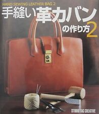 Leathercraft Instructional Book Hand Sewing Leather Bag Vol.2