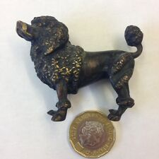 Fine Cold Painted Bronze Figure Of A Poodle Probably Austrian