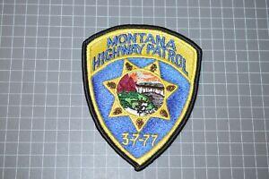 Montana Highway Patrol Patch (B11)