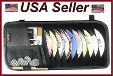 Black 10 Pockets CD/DVD Sun Visor Organizer Car/Truck/Auto/RV Neat/Organized/Pen