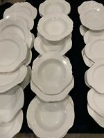 2 Of 2 35pc. Chantilly Complete Dinner Set For 12 People- Exellent Condition