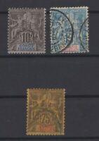 G139342/ FRENCH CONGO – MAURY # 16 - 17 - 23 USED – CV 120 $