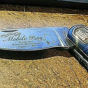 Franklin Mint American Civil War Union Admiral David Farragut Knife