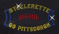Pittsburgh Steelers Football #3 Rhinestone Iron on Transfer                 CO2M