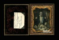 1/4 Daguerreotype Captain Samuel Wilkes Confederate Civil War Soldier KIA + WIFE