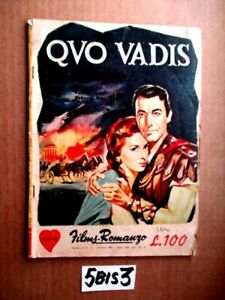 FILM ROMANZO QUO VADIS ROBERT TAYLOR DEBORA KERR PETER USTINOV APR 1961  (5BIS3)