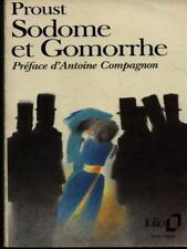 SODOME ET GOMORRHE  PROUST MARCEL GALLIMARD 1989 COLLECTION FOLIO