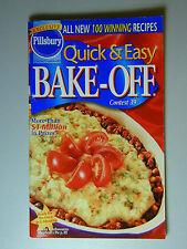 PILLSBURY Cookbook Booklet QUICK & EASY BAKE OFF  2000 #229
