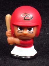 """MLB TEENYMATES ~ 1"""" Batter Figure ~ Series 1 ~ DBacks ~ Minifigure"""