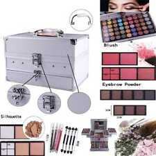 Urban Beauty Make Up Kit Set Vanity Case 132color Cosmetics Collection Carry Box