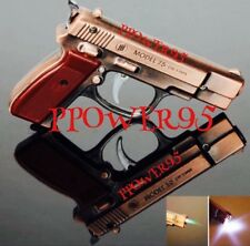Limited Edition Windproof Cigarette Lighter Metal With Touch Light