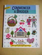 Livre Commencer à broder /AA24