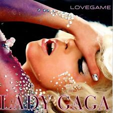 ☆ CD SINGLE Lady GAGA Lovegame CARD SLEEVE ☆ NEW SEALED ☆  RARE FRANCE ☆
