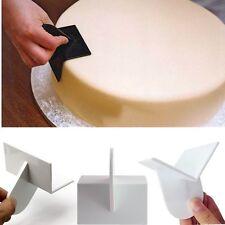 1x Cake Smoother Scraper Fondant Decorate Icing Craft Baking Mould Curve Edge AU