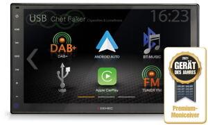 Wohnmobil Camper Caravan 2-DIN Auto Radio DAB+ USB BT Navigation m Apple Carplay