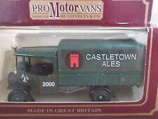 Lledo PV91 CODE 3, Foden Steam Wagon, Castletown Ales, Isle of Man - cert 41/100