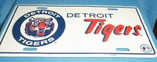 Aluminum License Plate MLB Detroit Tigers