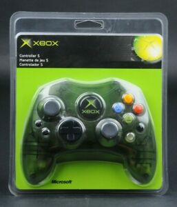 Original Xbox Controller S Transparent Green Factory Sealed Micorosoft K8600015
