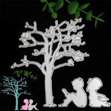 Tree Boy Girl Cutting Dies Stencils Scrapbooking Photo Album Embossing Craft DIY