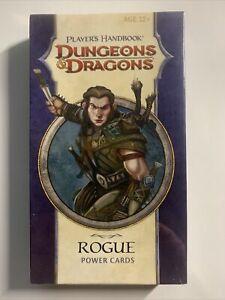 Dungeons & Dragons Player´s Handbook ROGUE Power Cards D&D *OVP*
