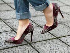 Size UK5 Womens Heels Dune Head Over Heels Madera Navy Velvet Shoes UK6