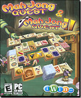 MahJong Quest 1 & 2 Collector's Tin   Over 500 Puzzles and Numerous Layouts  NEW