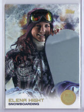 Elena Hight 2014 Topps Winter Olympics Golden Rainbow Foil #44 Snowboarding