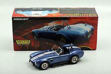 1:18 Greenlight Mecum Sold 1966 SHELBY COBRA S/C Blue/W