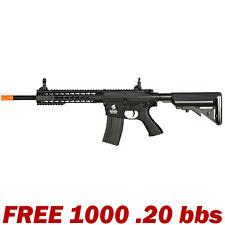 415 FPS Airsoft Gun M4 LT-12BK Keymod Rifle AEG Full Automatic Metal Gearbox NEW