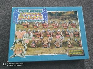 BOXED Warhammer Prince Ulther's Imperial Dwarfs The Dragon Company 1987 Citadel