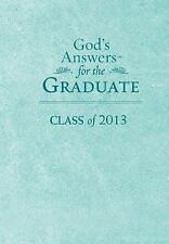 God's Answers for the Graduate: Class of 2013 - Teal: New King James Version