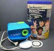 1978 GAF View-Master Spacemen Theatre in the Round Projector, 10 Reels Star Trek