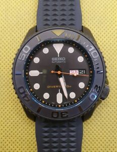 Seiko 5 SRPD79K1 modified with SKX007 dial and Black Yachtmaster Insert