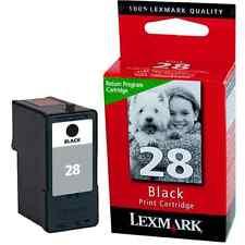 LEXMARK 18C1428E BLACK INK NO 28 Z845 ORIGINAL NO28