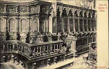 Siena Italien Italia AK ~1910/20 Chor Kathedrale Dom Innenraum Möbel Schnitzerei