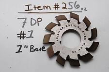 """GEAR CUTTER #1 - 7DP 1"""" BORE - USA Made - #7 DP 1"""" Arbor"""