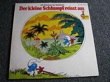 Die Schlümpfe-Der kleine Schlumpf reisst aus LP-1976 Germany-Peggy-Bellaphon-BB