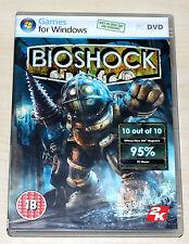 BIOSHOCK - PC SPIEL - DVD MIT HANDBUCH - ENGLISH INTERNATIONAL UNCUT VERSION